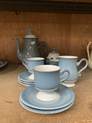 Lot 15 - A Denby coffee set