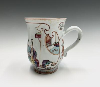 Lot 24 - A Chinese famille rose export porcelain mug,...