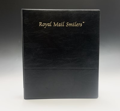 Lot 301 - G.B. 'Smilers' sheets. Special album...