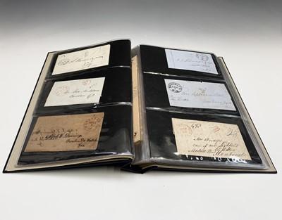 Lot 302 - U.S.A. Postal History Album containing over...