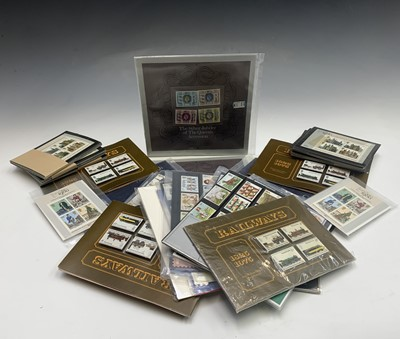 Lot 307 - GB Pictorial Stamp Collector's Packs - box...