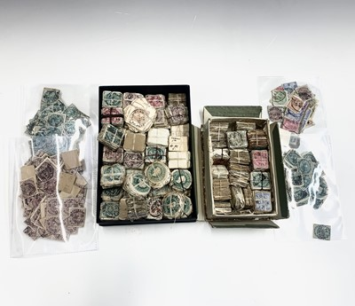 Lot 309 - India bundleware - box containing many...