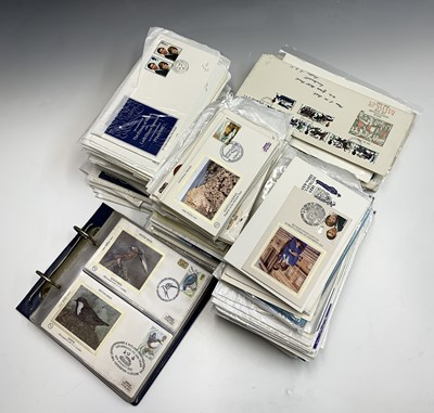 Lot 310 - GB First Day Covers - box containing hundreds...