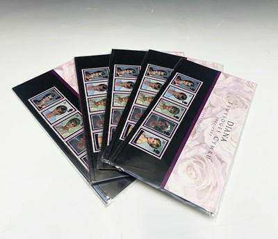 Lot 313 - Lady Diana 1997 Welsh Presentation Packs (x 5)...