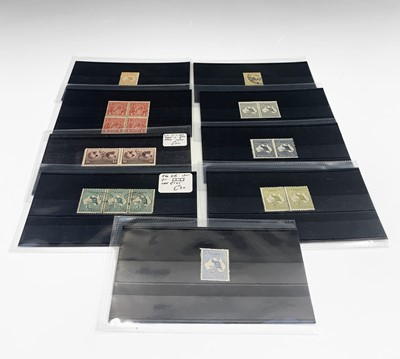 Lot 316 - Australia - early selection on 10 small...