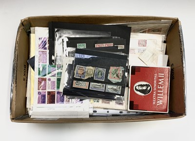 Lot 326 - British Commonwealth - Box containing a large...