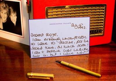 Lot 1215 - Diana, Princess of Wales, The Letters...