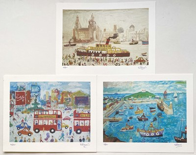 Lot 87 - Simeon STAFFORD (1956) 3 signed prints Each...