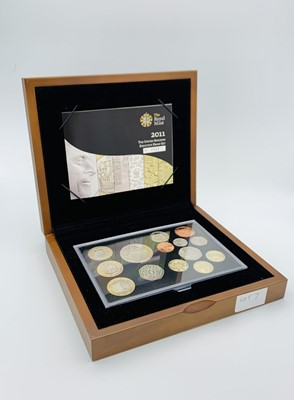 Lot 7 - Great Britain 2011 Executive Proof Set. Cased...