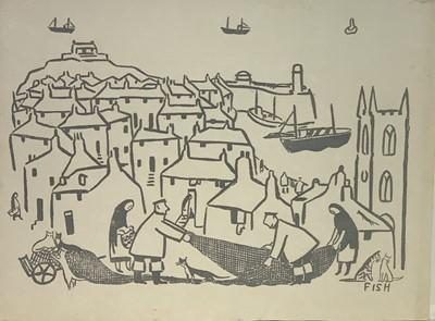 Lot 10 - Anne Harriet SEFTON (Fish) (1890-1964) St Ives...