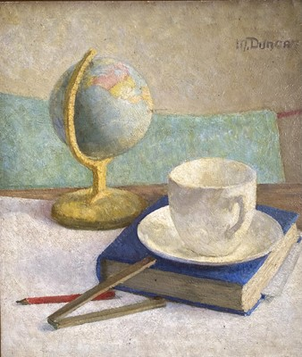Lot 96 - Mary DUNCAN (1885-1964) Still Life with Globe...