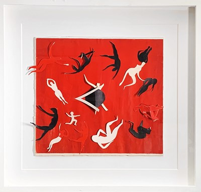 Lot 21 - Terry FROST (1915-2003) Dancing Figures Mixed...