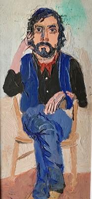 Lot 32 - Fred YATES (1922-2008) Self Portrait Oil on...