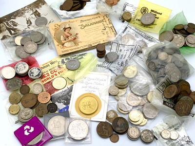 Lot 13 - Great Britain & Isle of Man Coins etc - A box...