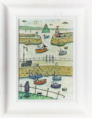 Lot 1 - Joan GILLCHREST (1918-2008) Mounts Bay Oil on...