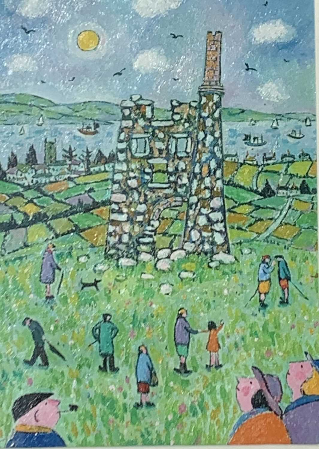 Lot 94 - Joan GILLCHREST (1918-2008) Day out at old Tin...