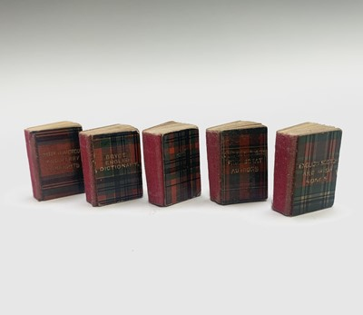 Lot 16 - A set of miniature books by David Bryce & Son...