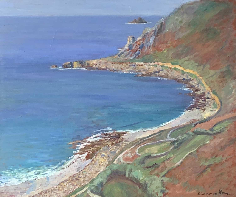 Lot 95 - Elizabeth Lamorna KERR (1905-1990) Gwenver Oil...