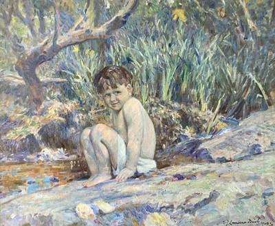 Lot 192 - Samuel John Lamorna BIRCH (1869-1955) Adam on...