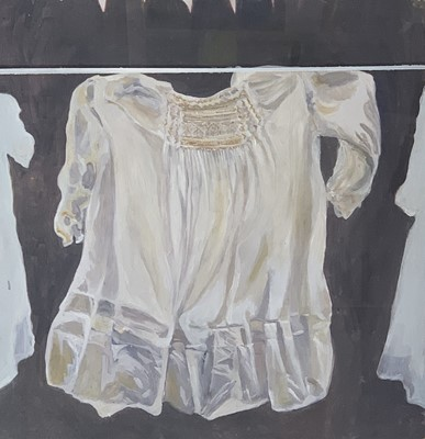 Lot 175 - Judith KERR Baby Dress Oil on board and mixed...