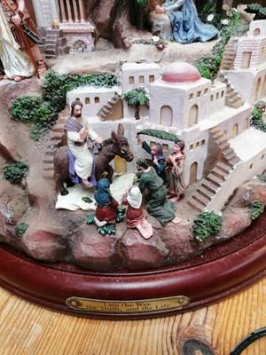 Lot 18 - Thomas Kinkade - 'Faith Mountain' scuplture. A...