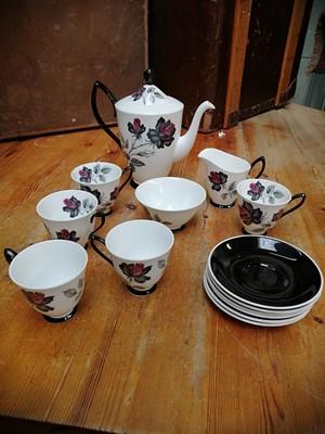 Lot 36 - A Royal Albert 'Masquerade' tea set and three...