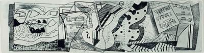 Lot 148 - Bryan INGHAM (1936-1997) Music Making at IMS...
