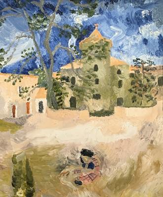 Lot 125 - Kate NICHOLSON (1929-2019) Mas De Fourques Oil...