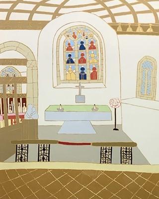 Lot 185 - Bryan PEARCE (1929-2007) The Lady Chapel, St...