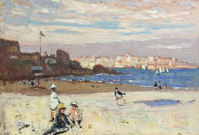 Lot 187 - Follower of Hayley LEVER (1876-1958) St Ives Oil