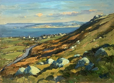 Lot 33 - Bob VIGG (1932-2001) St Ives Bay Oil 46x62cm...