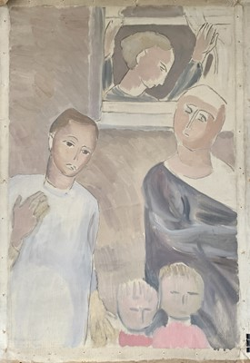 Lot 2 - Joan Manning SANDERS (1912-2002) The Familly...