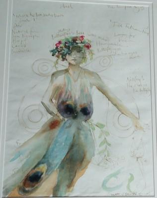 Lot 32 - Sarah J BROWN'Ariel'Costume design for...