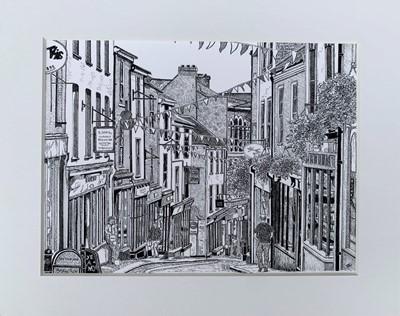 Lot 11 - Debora CARTER High Street, Falmouth Giclée...