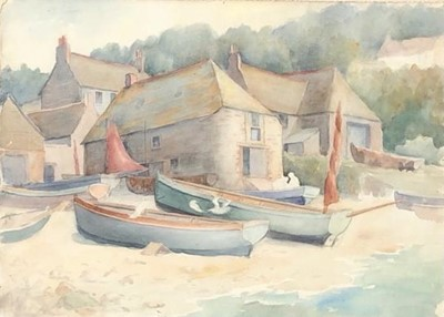 Lot 2 - Francis COUDRILLWatercolour on paper (circa...