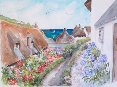 Lot 17 - Susannah GARLAND Footpath Down to the Cove...