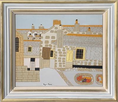 Lot 114 - Bryan PEARCE (1929-2006) The Salt House Oil on...