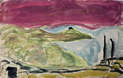 Lot 374 - Various works from the estate of Denis Mitchell.