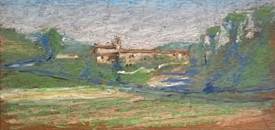 Lot 137 - Barrie BRISCOE (1936) Continental Landscape...