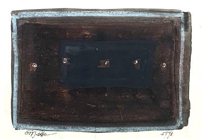 Lot 177 - Tony O'MALLEY (1913-2003) Untitled Mixed media...