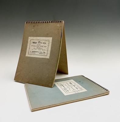 Lot 152 - Julian DYSON (1936-2003) Two sketchbooks