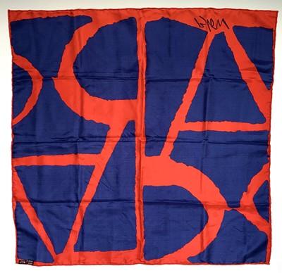 Lot 171 - After Sandra BLOW (1925-2006) A Silk Scarf