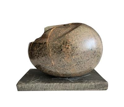 Lot 101 - Max BARRETT (1937-1988) Stone Head Carved...