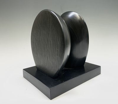 Lot 104 - Tommy ROWE (1941) Two Forms Slate sculpture...