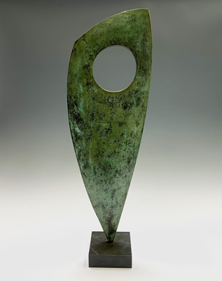 Lot 105 - Chris BUCK (1956) Sculptural Form Bronze...