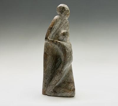 Lot 107 - Sven BERLIN (1911-1999) Figure Group Carved...