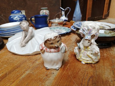 Lot 4 - Two Beatrix Potter figurines - Mrs Tiggy...