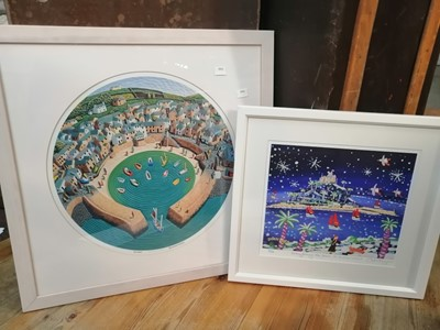 Lot 11 - John Dyer, a limited edition print 6/50,...