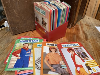 Lot 12 - A set of 'Make it Easy' sewing guides.