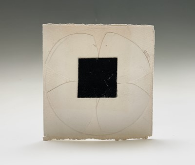 Lot 149 - Terry FROST (1915-2003) White and Black Flower...